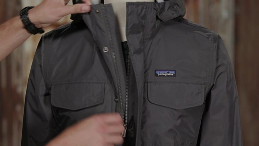 Patagonia Mens Torrentshell Parka - image 5 from the video