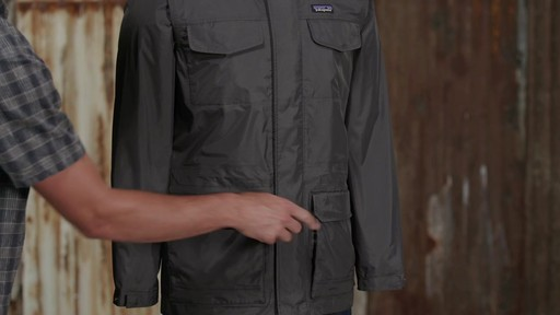 Patagonia Mens Torrentshell Parka - image 6 from the video