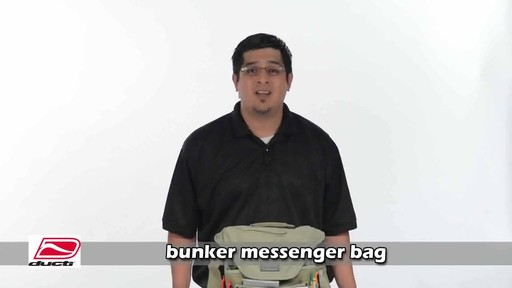 Ducti Bunker Messenger Bag - image 1 from the video