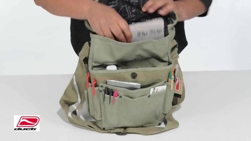 Ducti Bunker Messenger Bag - image 3 from the video