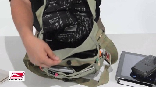 Ducti Bunker Messenger Bag - image 5 from the video
