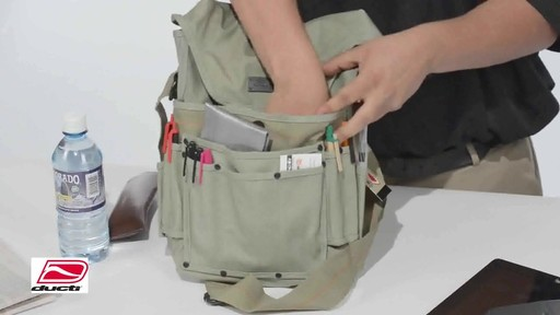 Ducti Bunker Messenger Bag - image 8 from the video