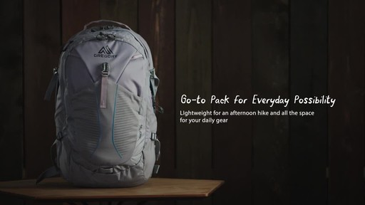 Gregory Anode 30L Laptop Backpack - image 2 from the video