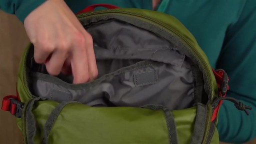Kelty Riot 15 Hiking Backpack - image 7 from the video