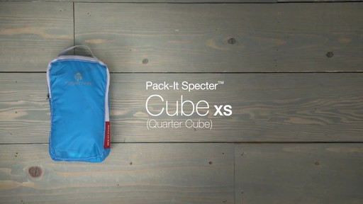 Eagle Creek Pack-It Specter Quarter Cube - image 10 from the video
