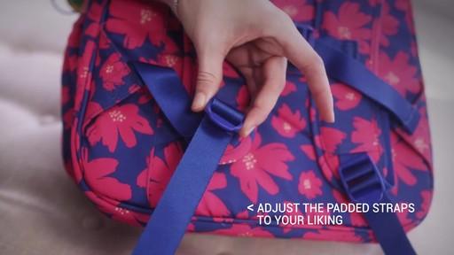 Vera Bradley Lighten Up Grande Laptop Backpack - image 2 from the video