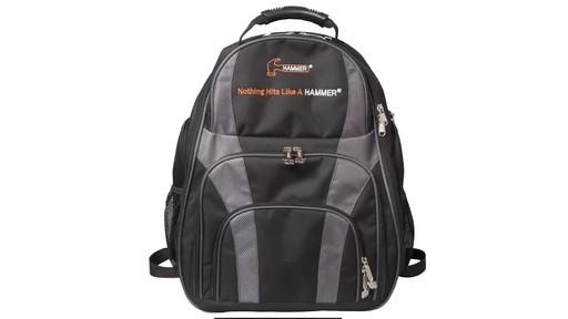 Hammer Deuce Two Ball Bowling Backpack - image 2 from the video