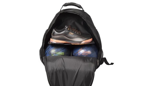 Hammer Deuce Two Ball Bowling Backpack - image 5 from the video