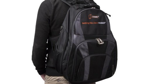 Hammer Deuce Two Ball Bowling Backpack - image 6 from the video