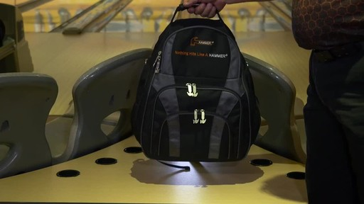 Hammer Deuce Two Ball Bowling Backpack - image 8 from the video