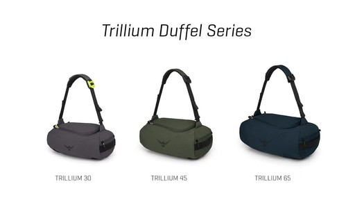 Osprey Trillium Duffel Series - image 4 from the video