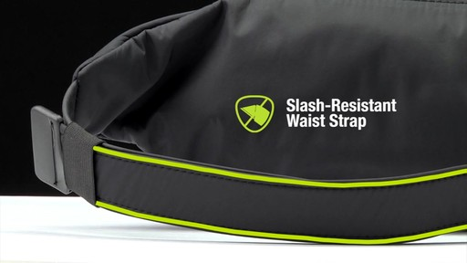 Travelon Anti-Theft Classic Light Slim Waist Pack - eBags.com - image 4 from the video