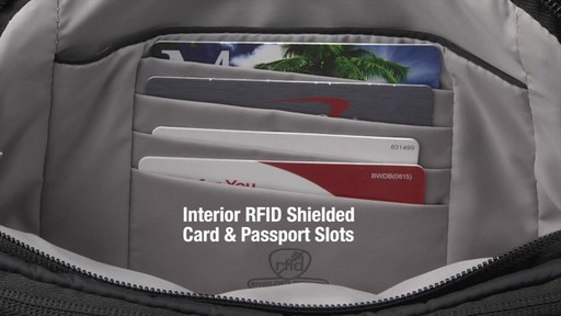 Travelon Anti-Theft Classic Light Slim Waist Pack - eBags.com - image 8 from the video