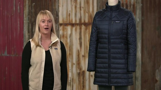 Patagonia Womens Radalie Parka - image 10 from the video