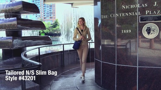 Travelon Anti-Theft Tailored N/S Slim Bag - image 1 from the video
