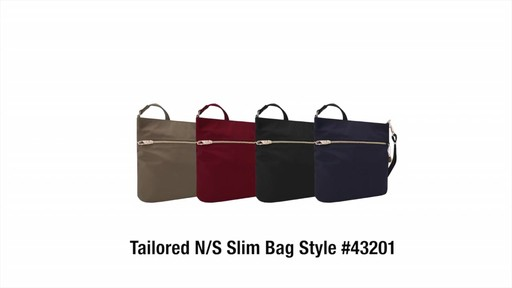Travelon Anti-Theft Tailored N/S Slim Bag - image 10 from the video