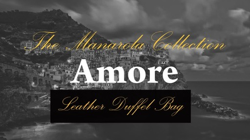 Siamod Manarola Collection Amore Duffel Bag - image 2 from the video