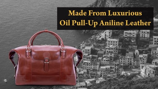 Siamod Manarola Collection Amore Duffel Bag - image 4 from the video