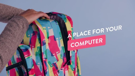 American Tourister Keystone Laptop Backpack - image 2 from the video