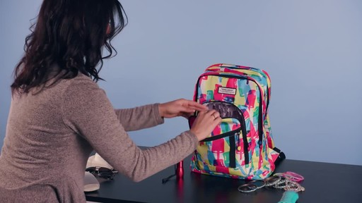American Tourister Keystone Laptop Backpack - image 5 from the video