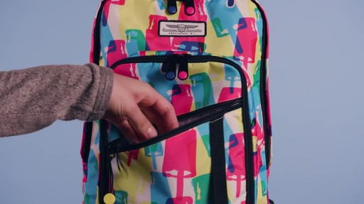 American Tourister Keystone Laptop Backpack - image 8 from the video