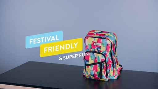 American Tourister Keystone Laptop Backpack - image 9 from the video