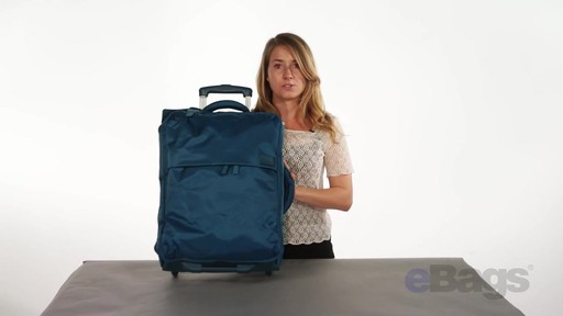 Lipault Paris Foldable 2 Wheeled Luggage - on eBags.com - image 10 from the video
