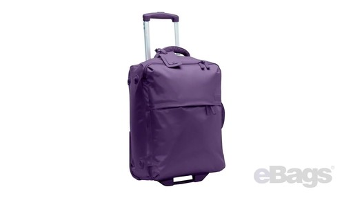 Lipault Paris Foldable 2 Wheeled Luggage - on eBags.com - image 3 from the video