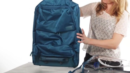 Lipault Paris Foldable 2 Wheeled Luggage - on eBags.com - image 5 from the video