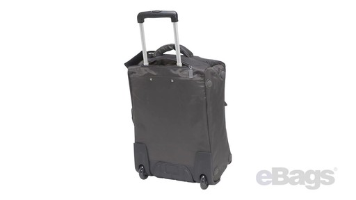 Lipault Paris Foldable 2 Wheeled Luggage - on eBags.com - image 6 from the video