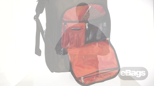 Organized laptop backpack. eTech 2.0 Downloader Laptop Backpack. - image 3 from the video