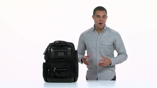 Tumi Alpha Bravo Kingsville Deluxe Brief Pack - eBags.com - image 1 from the video