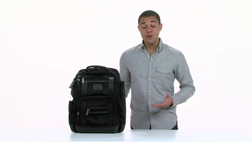 Tumi Alpha Bravo Kingsville Deluxe Brief Pack - eBags.com - image 10 from the video