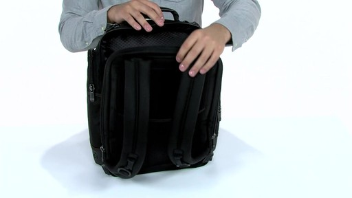 Tumi Alpha Bravo Kingsville Deluxe Brief Pack - eBags.com - image 2 from the video