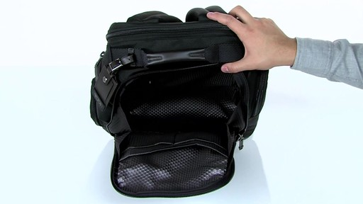 Tumi Alpha Bravo Kingsville Deluxe Brief Pack - eBags.com - image 3 from the video