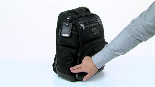 Tumi Alpha Bravo Kingsville Deluxe Brief Pack - eBags.com - image 4 from the video