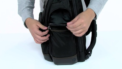 Tumi Alpha Bravo Kingsville Deluxe Brief Pack - eBags.com - image 6 from the video