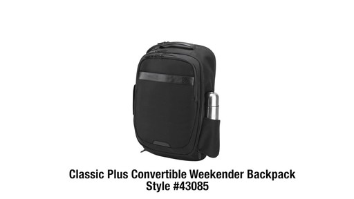 Travelon Anti-theft Classic Plus Convertible Backpack - Shop eBags.com - image 10 from the video