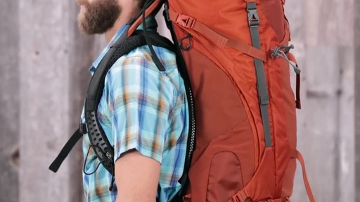 Osprey Aether and Ariel Anti-Gravity Hiking Packs - image 3 from the video