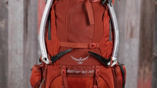 Osprey Aether and Ariel Anti-Gravity Hiking Packs - image 7 from the video