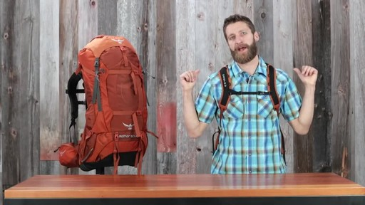 Osprey Aether and Ariel Anti-Gravity Hiking Packs - image 9 from the video