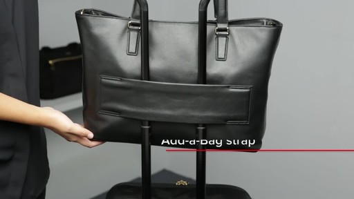 Tumi Voyageur Monika Leather Tote - image 6 from the video