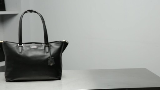 Tumi Voyageur Monika Leather Tote - image 9 from the video
