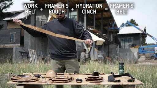 Carhartt Legacy Build Your Own Belt - image 6 from the video