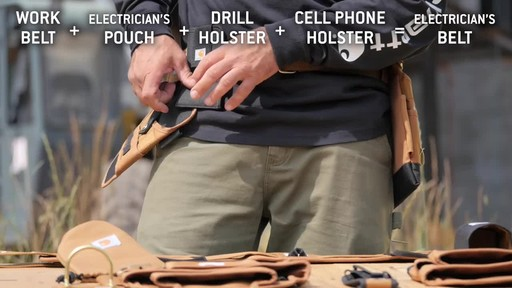 Carhartt Legacy Build Your Own Belt - image 7 from the video