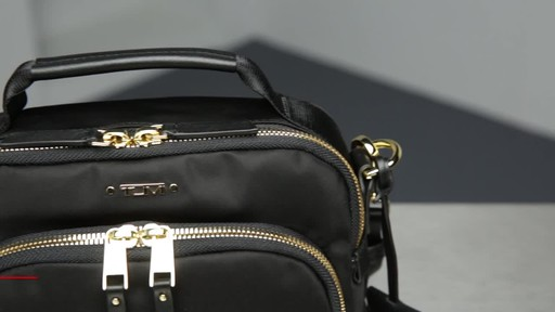 Tumi Voyageur Troy Leather Crossbody - image 2 from the video