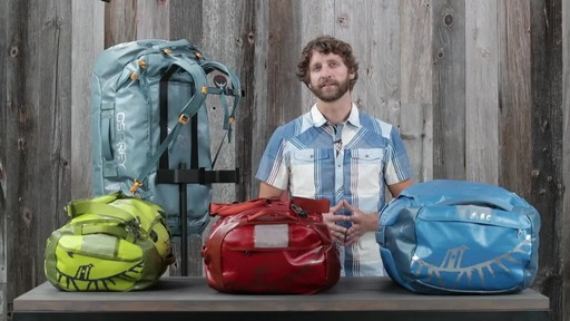 Osprey Transporter Duffel Collection - image 1 from the video