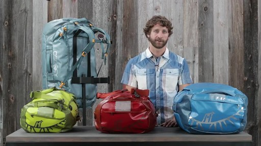 Osprey Transporter Duffel Collection - image 10 from the video