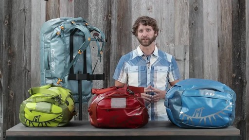 Osprey Transporter Duffel Collection - image 2 from the video