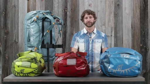 Osprey Transporter Duffel Collection - image 3 from the video